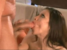 Multi-ethnic seductress Jayna Oso is giving an awesome blowjob