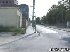 Broke amateur bigtit rides big cock
