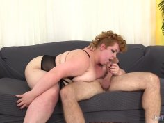 Feisty Fat Girl Velma Voodoo Is Fucked Good in Her Mouth and Pussy