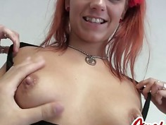 Anal Action With Amazing Redhead Whore