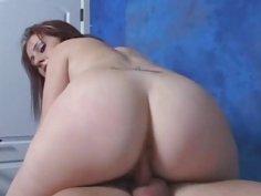 Hawt girl sucks and fucks boy